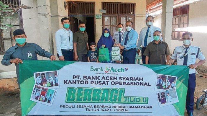 Bank Aceh Syariah KPO Salur 1.500 Paket untuk Warga Kurang Mampu