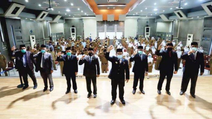 Aminullah Minta Jajaran Pemko Punya Loyalitas Tinggi