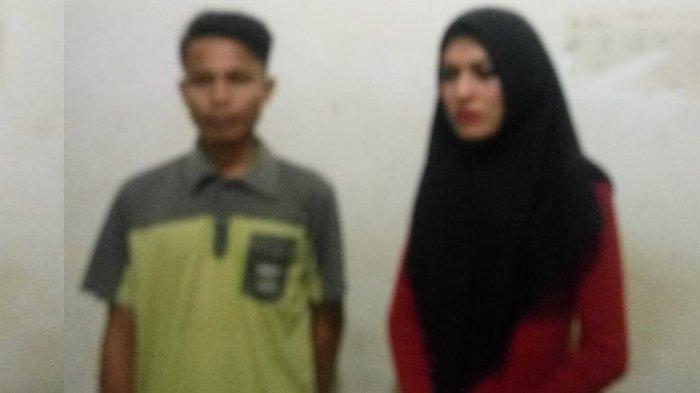 Pemuda dan Waria Berjuluk Angel Vanessa Diringkus WH Kota Langsa, Terjengkang ke Aspal Saat Kabur