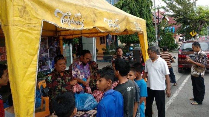 Solidaritas Pemuda Muhammadiyah Aceh Berbagi Ifthar Buka Puasa