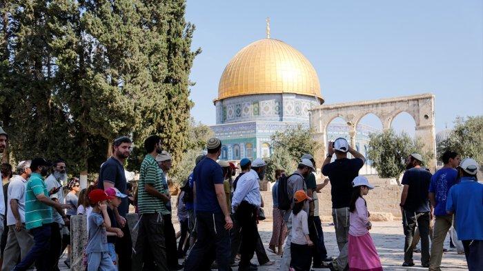 Lebih 1000 Pemukim Israel Memaksa Masuk ke Kompleks Al-Aqsa, Mufti Al-Quds Khawatirkan Perang Agama
