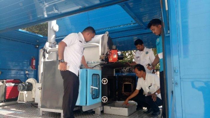BNN Aceh Musnahkan 4 Kg Sabu Hasil Tangkapan dari Jaringan Sumut-Aceh