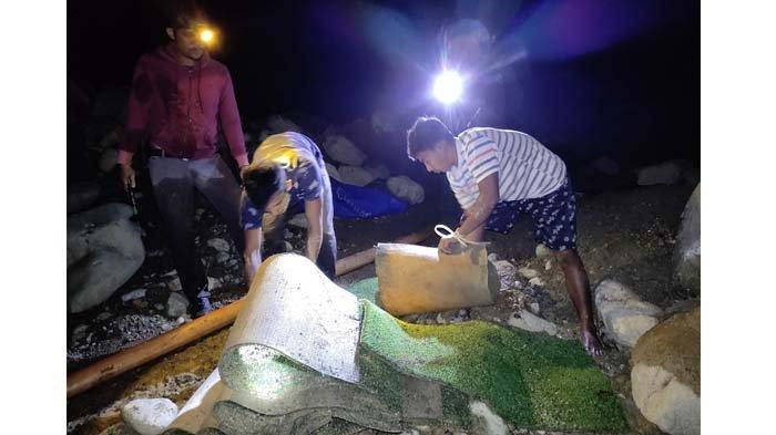 Polisi Tangkap 4 Penambang Emas