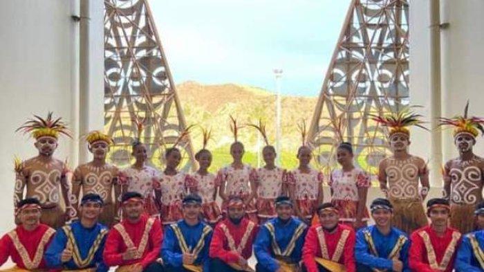 Tari Aceh Ratoeh Duek Meriahkan Penutupan PON, Sekaligus Pendelegasian Aceh-Sumut Tuan Rumah 2024