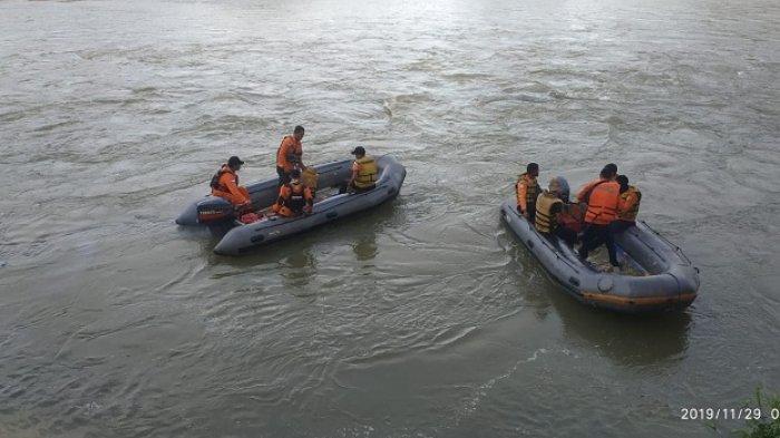 Adelia Bocah Tenggelam di Sungai Tamiang belum Ditemukan, Tim SAR Perluas Area Pencarian