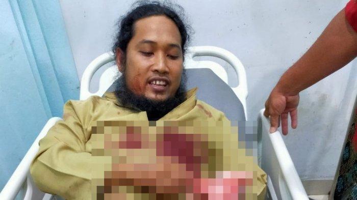 Ustadz Zaid Ceritakan Kronologis Ia Ditikam Saat Ceramah di Aceh Tenggara & Permintaannya ke Polisi