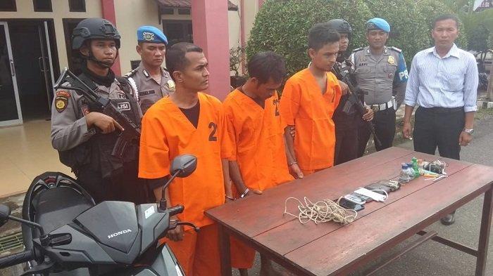 Polisi Ringkus Tiga Penculik, Ini Identitasnya