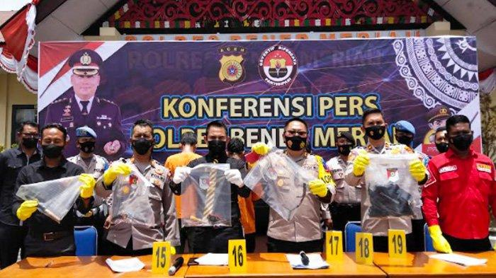 Korban Apresiasi Polres Bener Meriah Ungkap Kasus Curanmor Terbesar, BB Sembilan Sepmor, Enam Mobil