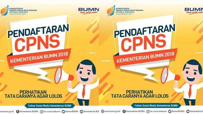 CPNS 2018 - Petunjuk Lengkap Cari Formasi, Registrasi & Dokumen di Link sscn.bkn.go.id