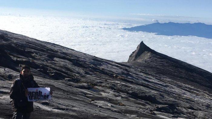 Rizki Pendaki Aceh Tracker Taklukkan Kinabalu Puncak Gunung Tertinggi Di Malaysia Halaman All Serambi Indonesia