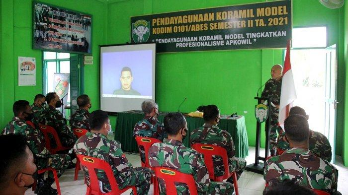 Dandim 0101/Aceh Besar Tegaskan Aparat Komando Kewilayahan Harus Paham & Mampu Laksanakan Fungsinya
