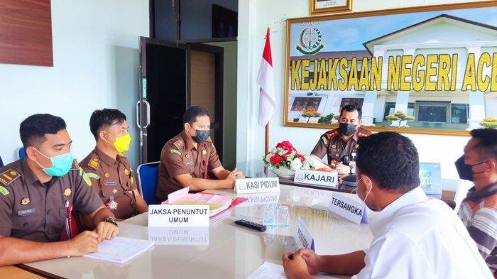 Kejari Aceh Singkil Sukses Selesaikan Perkara Lewat Keadilan Restoratif