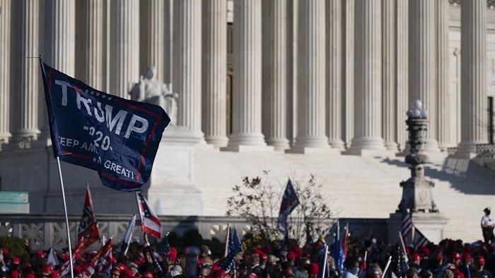 Mahkamah Agung AS Tolak Gugatan Jalur Cepat Trump Atas Hasil Suara di Lima Negara Bagian