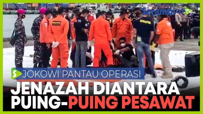 Kesaksian Penyelam, Pesawat Sriwijaya Air SJ 182 Hancur Berkeping-keping di Bawah Laut