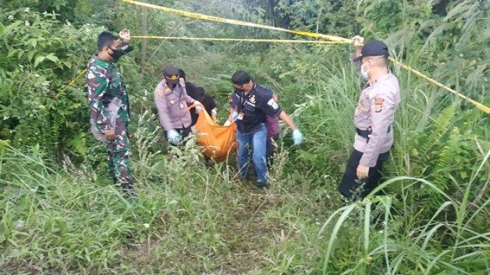 JasadWanita yang Ditemukan di Jurang Gunung SalakDijemput Keluarganya dari Medan