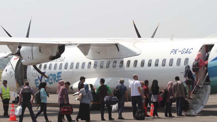 Hari Pencoblosan Pemilu 2019, Penumpang Pesawat dari Medan Minim, dari Aceh Utara ke Sumut Full