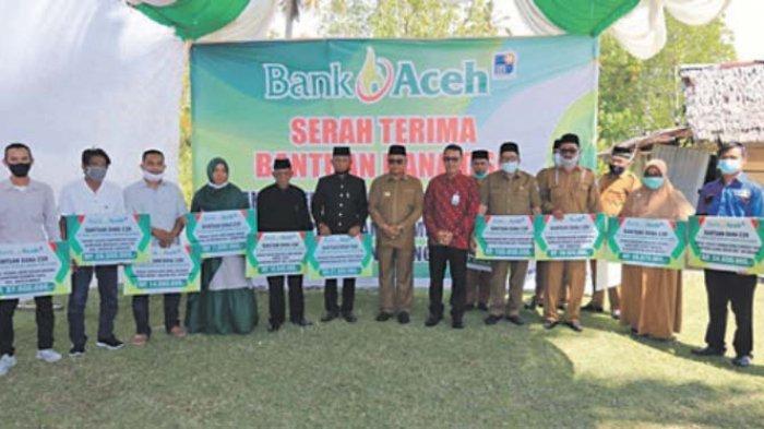 Dana CSRBank Aceh Meulaboh untuk Sarana Pendidikan hingga Pengusaha Kecil