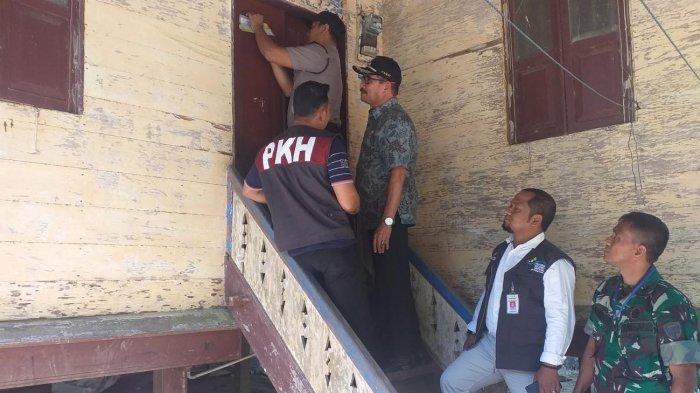 Rumah Penerima PKH Bireuen Dipasang Stiker, Begini Respon Pemilik Rumah