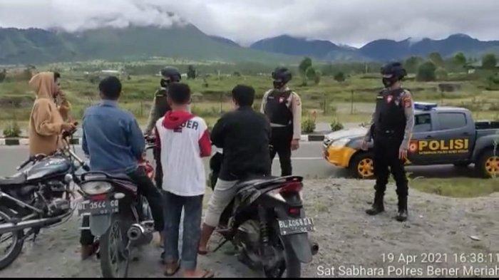Kerap Dijadikan Arena Balapan Liar di Bener Meriah, Polisi Bubarkan Kumpulan Remaja