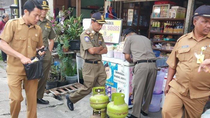 Satpol PP Tertibkan Penjualan LPG 3 Kg Hingga ke Kecamatan