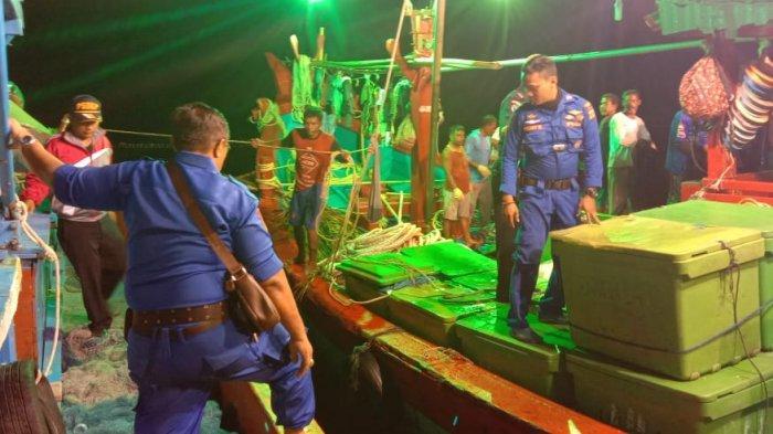 Tim Gabungan Sisir Perairan Langsa, Laporannya Banyak Penggunaan Trawl, Begini Hasilnya