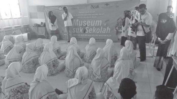 """Museum Aceh Mengadakan Kegiatan """"Museum Masuk Sekolah"""" Tingkat SMP"""