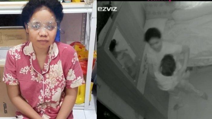 Baby Sitter Terekam CCTV Lakukan Hal Mengerikan, Siksa Anak Majikan Sambil Nyanyi