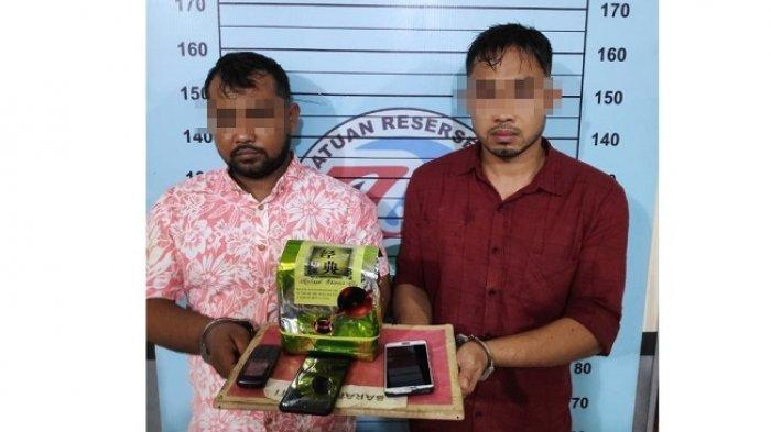 Dua Pria di Aceh Utara Kembali Diringkus Polisi, 1,1 Kilogram Sabu Disita, Begini Kronologisnya