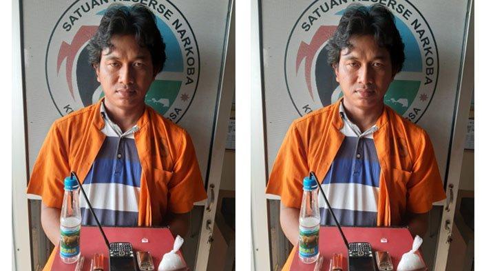 Pengedar Sabu-sabu di Pondok Kemuning Langsa Ditangkap Satuan Reserse Narkoba di Rumahnya