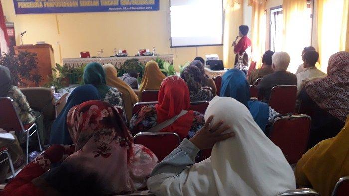 40 Pengelola Pustaka Sekolah di Aceh Barat Ikut Sosialisasi