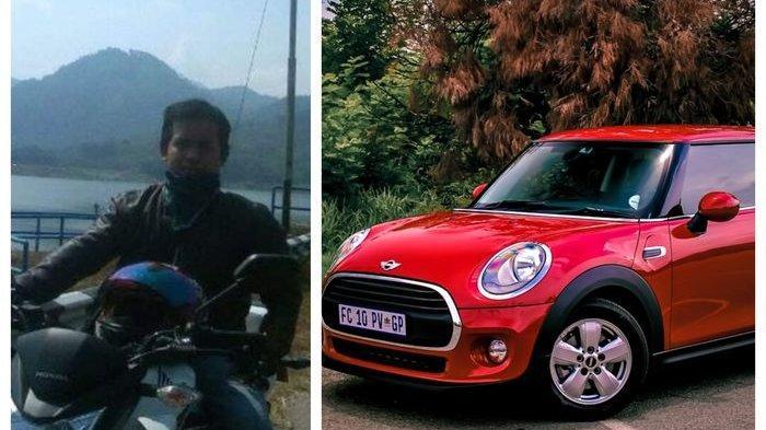 Pengemudi Ojol Dedi Heryadi Sempat tak Percaya Dapat Mini Cooper Seharga Rp12.000 Saat Harbolnas
