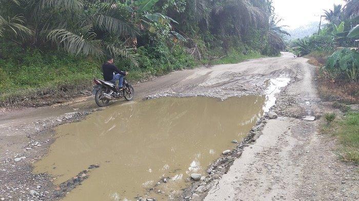 Kerusakan Semakin Parah, Warga Pertanyakan Pembangunan Ruas Jalan Aceh Timur - Gayo Lues