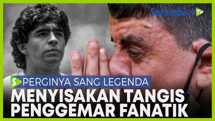 20 Ahli di Argentina Perdebatkan Kematian Legenda Sepakbola Maradona
