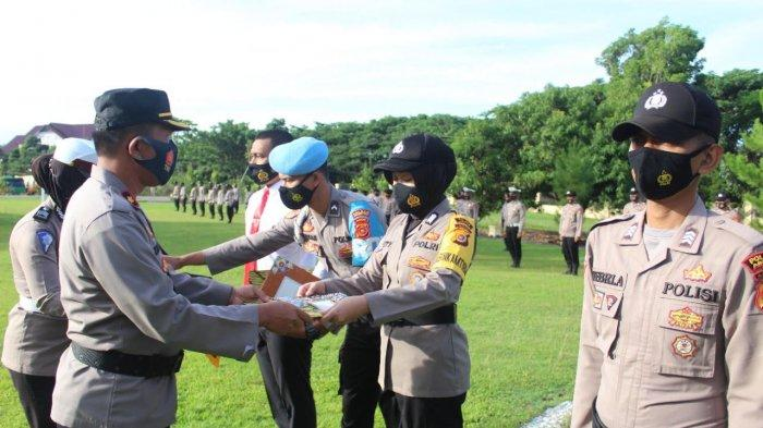 Puluhan Personel Polres Abdya Terima Penghargaan