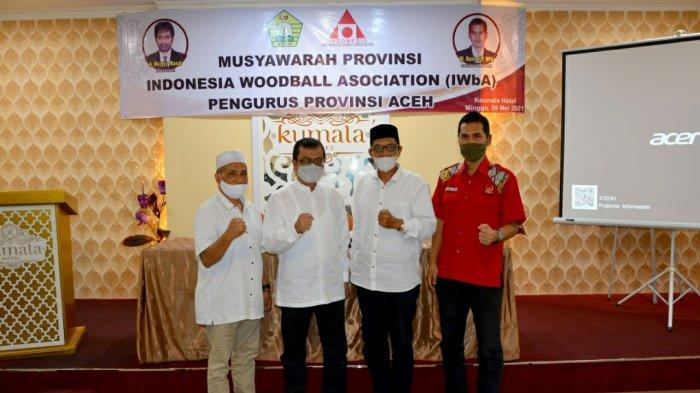 Pengprov Woodball Aceh Resmi Terbentuk, Azwardi Terpilih Secara Aklamasi
