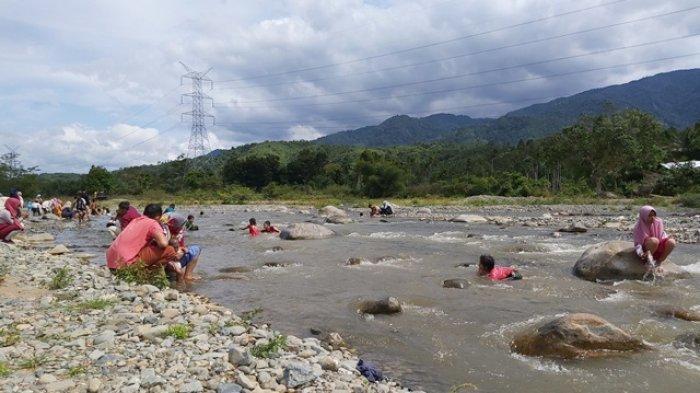 Objek Wisata Krueng Geuni Tangse Ramai Dikunjungi