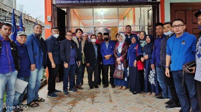 Pengurus Partai NasDem Aceh Sapa Kader Daerah