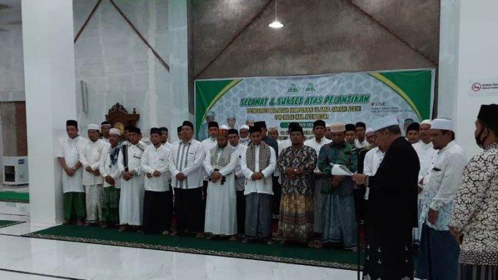 Tgk Mukhlis Abdullah Ketua PW HUDA Aceh Besar, Dilantik Bersama Pengurus Lainnya oleh Tu Sop