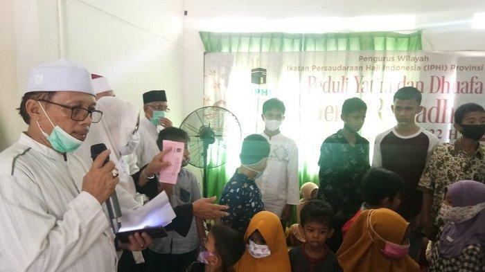 Pengurus IPHI Aceh Santuni Yatim dan Kaum Duafa