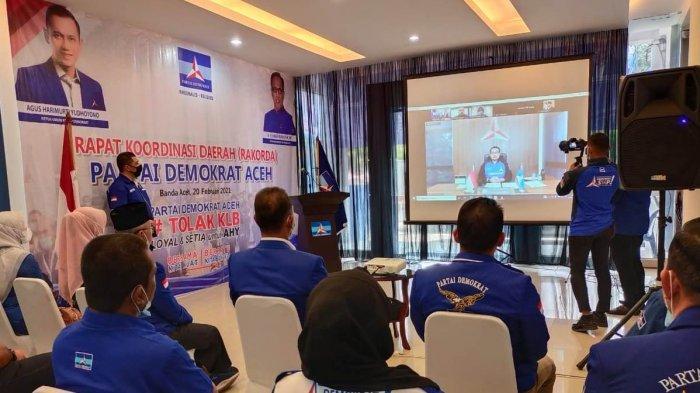 AHY Minta Kader di Aceh Waspadai Aksi Kudeta