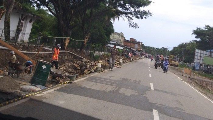Pembangunan Jalan Dua Jalur Abdya Dimulai, Dari Jembatan Pulau Kayu Hingga SMK di Ujong Padang