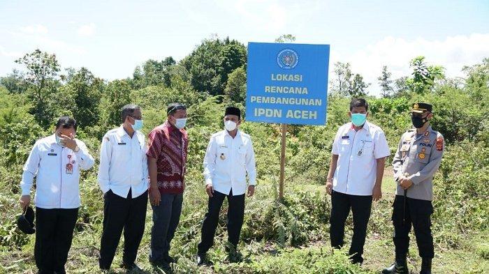 Peletakan Batu Pertama Pembangunan IPDN Aceh di Kota Jantho, Tinggal Menunggu Amanat Presiden