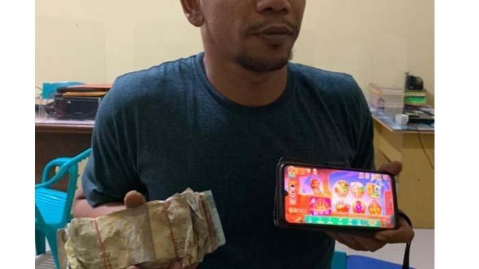Pejual Chip Higgs Domino Ditangkap, Berawal Info Warga, Polisi Sita Uang Rp 1,9 Juta