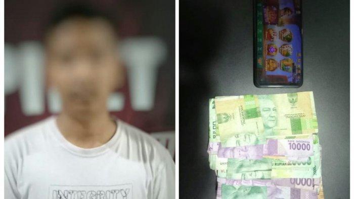 Personel Jatanras Polresta Banda Aceh Ringkus Penjual Chip Judi Online Higgs Domino di Aceh Besar