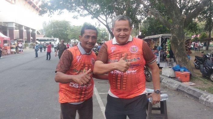 Warga dari Berbagai Daerah Datang Untuk SaksikanPersiraja vs Bhayangkara FC