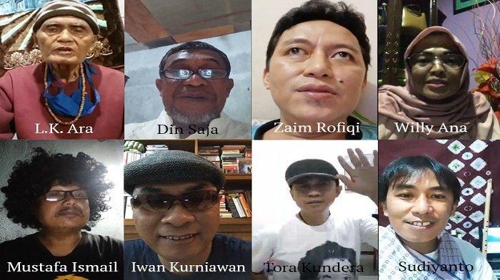 Sastrawan Baca #PuisidiRumahSaja, Libatkan Penyair Pulau Jawa, Aceh dan Bali
