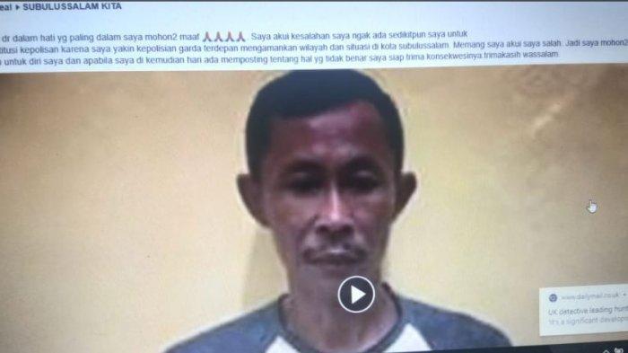 Tiga Warga Minta Maaf ke Polisi, Terkait Ujaran Kebencian di Facebook