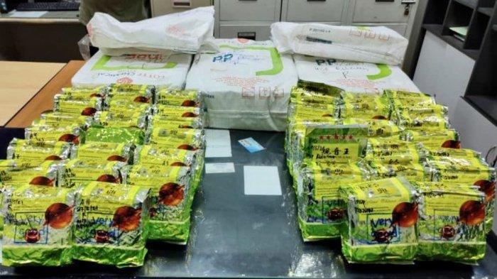 Polisi Malaysia Gagalkan Penyelundupan 105 Kg Sabu ke Aceh, Dua WNI Diamankan di Simpang Ampat