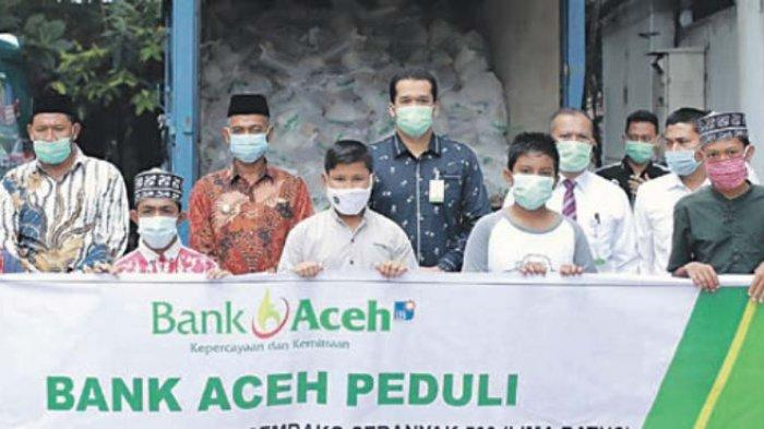 BAS Jeuram Serahkan 500 Paket Sembako untuk Fakir Miskin dan Duafa di Nagan Raya