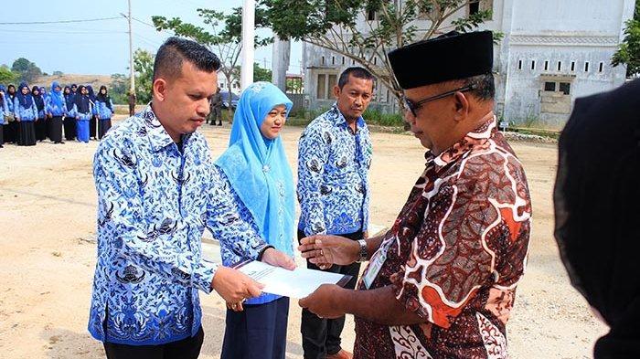 638 PNS Aceh Timur Terima SK Kenaikan Pangkat